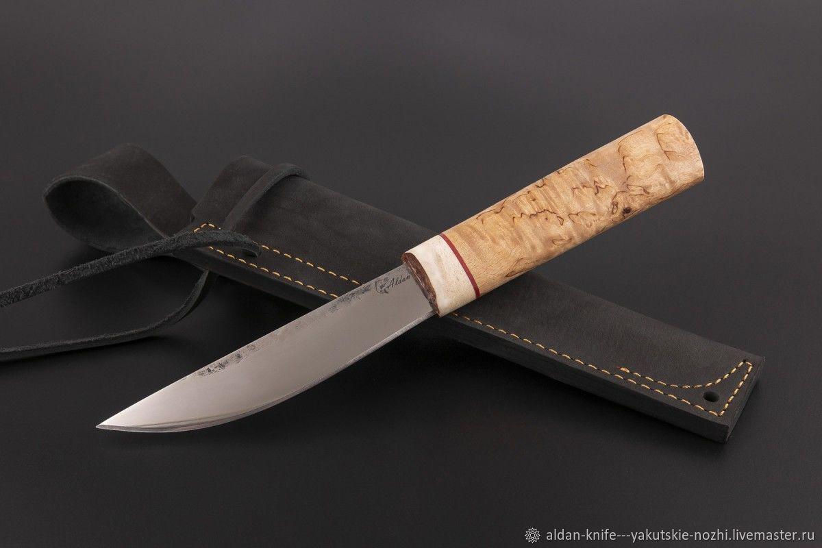 Оружие ручной работы. Ярмарка Мастеров - ручная работа. Купить Нож Якутский средний №39 (сталь х12мф). Handmade.