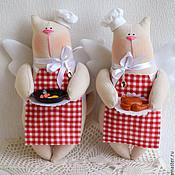 Куклы и игрушки ручной работы. Ярмарка Мастеров - ручная работа Котята поварята. Handmade.