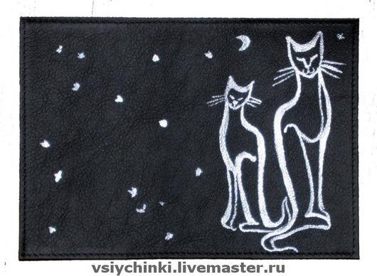 Обложки ручной работы. Ярмарка Мастеров - ручная работа. Купить Коты. Handmade. Обложка на паспорт, обложка с котами, подарок, коты