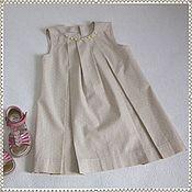 Dresses handmade. Livemaster - original item Dress summer cotton. Handmade.