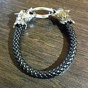 Фен-шуй и эзотерика handmade. Livemaster - original item bracelet leather original. Handmade.