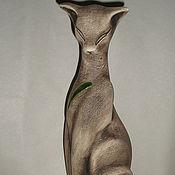 Для дома и интерьера ручной работы. Ярмарка Мастеров - ручная работа статуэтка-египетская кошка. Handmade.
