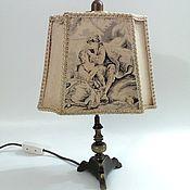Винтаж ручной работы. Ярмарка Мастеров - ручная работа Старинная лампа. Handmade.