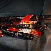 Музыкальные инструменты handmade. Livemaster - original item A rain stick ( Rainstick) (black 70-75 cm). Handmade.