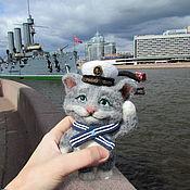 Куклы и игрушки handmade. Livemaster - original item Cat-cabin boy. Handmade.