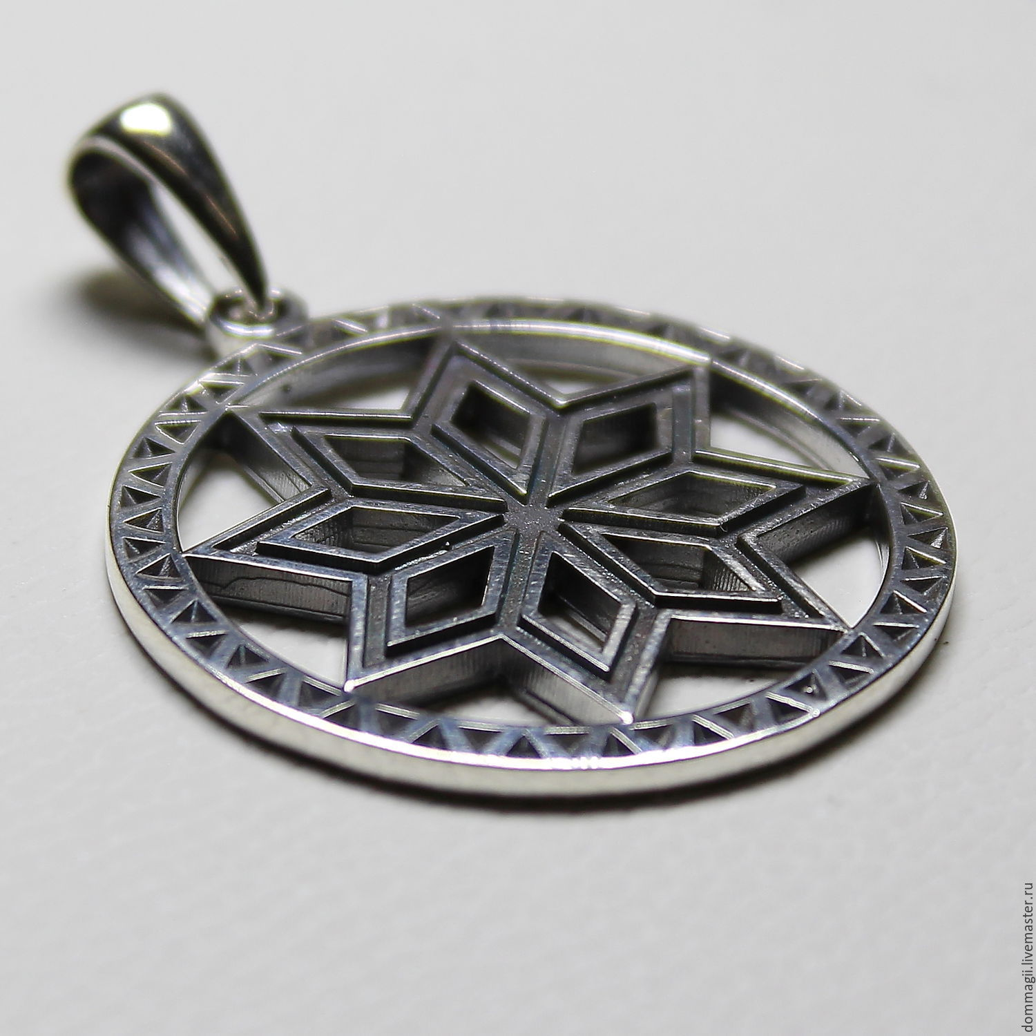 Mythical stone in a circle, Pendants, Moscow,  Фото №1