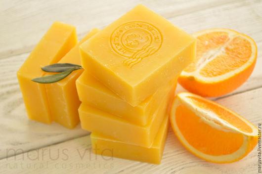 Натуральное Апельсиновое мыло