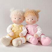 Куклы и игрушки ручной работы. Ярмарка Мастеров - ручная работа Текстильные куклы Непоседы. Handmade.