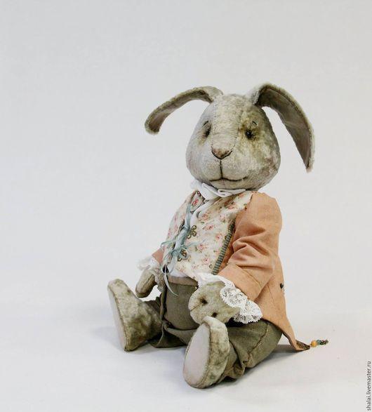 Мишки Тедди ручной работы. Ярмарка Мастеров - ручная работа. Купить кролик Мартин. Handmade. Комбинированный, подарок девушке