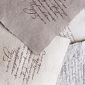 """Канцелярские товары ручной работы. Ярмарка Мастеров - ручная работа """"Calligraphy"""" набор бумаги для каллиграфии. Handmade."""