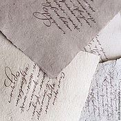 "Материалы для творчества handmade. Livemaster - original item ""Calligraphy"" set of paper for calligraphy. Handmade."
