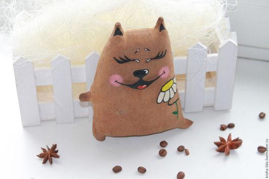 Ароматизированные куклы ручной работы. Ярмарка Мастеров - ручная работа. Купить Кошка с ромашкой. Handmade. Комбинированный, коты и кошки