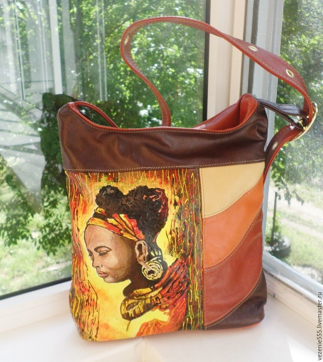 And another handbag African motifs for Catherine), Classic Bag, Noginsk,  Фото №1