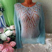 Одежда handmade. Livemaster - original item Handmade openwork jumper