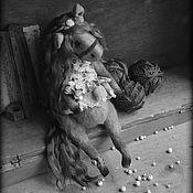 Куклы и игрушки ручной работы. Ярмарка Мастеров - ручная работа Пыльно-розовый закат.. Handmade.