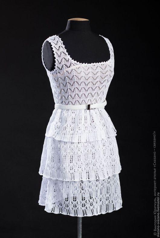 Платья ручной работы. Ярмарка Мастеров - ручная работа. Купить Платье женское. Handmade. Белый, большой размер, платья на заказ