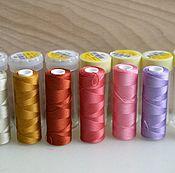 Нитки ручной работы. Ярмарка Мастеров - ручная работа Нитки для машинного и ручного шитья, Франция. Handmade.