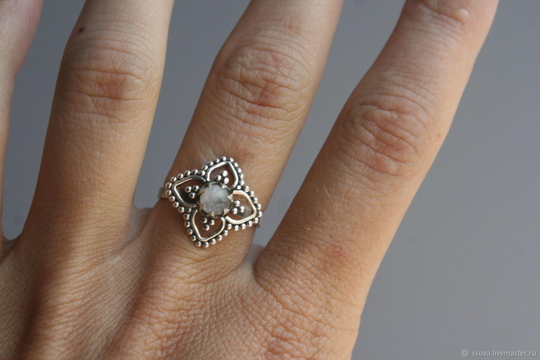 17 лунный 5мм Кольцо серебряное, Кольца, Санкт-Петербург,  Фото №1