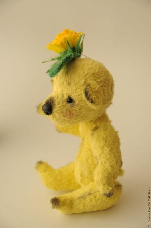 Мишки Тедди ручной работы. Ярмарка Мастеров - ручная работа. Купить Taraxacum officiale (Одуванчик). Handmade. Желтый, тедди мишка