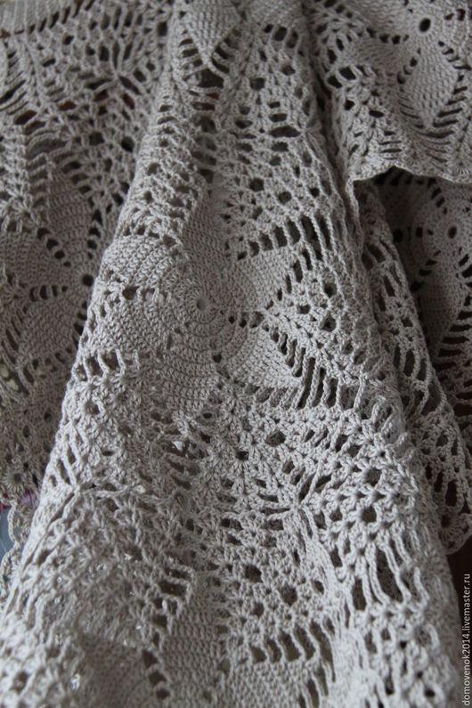 Текстиль, ковры ручной работы. Ярмарка Мастеров - ручная работа. Купить Дорожка (салфетка) бежевая. Handmade. Бежевый, стол, снежинка