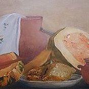 Картины и панно ручной работы. Ярмарка Мастеров - ручная работа Тыква. Handmade.