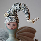 Куклы и игрушки ручной работы. Ярмарка Мастеров - ручная работа Живущая у моря....Винтажная коллекционная кукла. Handmade.