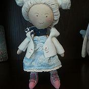 """Куклы и игрушки ручной работы. Ярмарка Мастеров - ручная работа """"Куколка из зимней сказки"""". Handmade."""