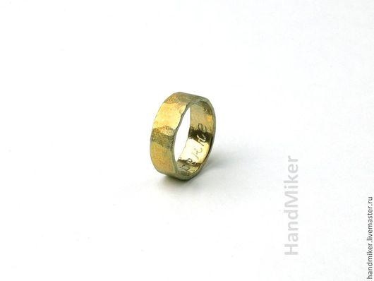 """Кольца ручной работы. Ярмарка Мастеров - ручная работа. Купить Кольцо """"С любовью"""". Handmade. Золотой, кованые изделия, медь"""