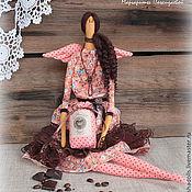 Куклы и игрушки ручной работы. Ярмарка Мастеров - ручная работа Фея кофе и шоколада Мишель.. Handmade.