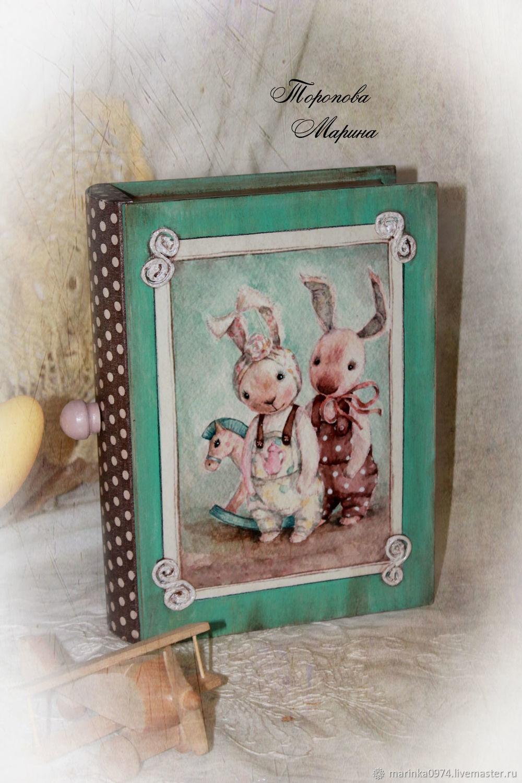 Box-book ' My darlings', Box, Krasnoyarsk,  Фото №1