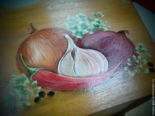 Кухня ручной работы. Ярмарка Мастеров - ручная работа. Купить Короб под овощи и специи. Handmade. Коричневый, короб для хранения
