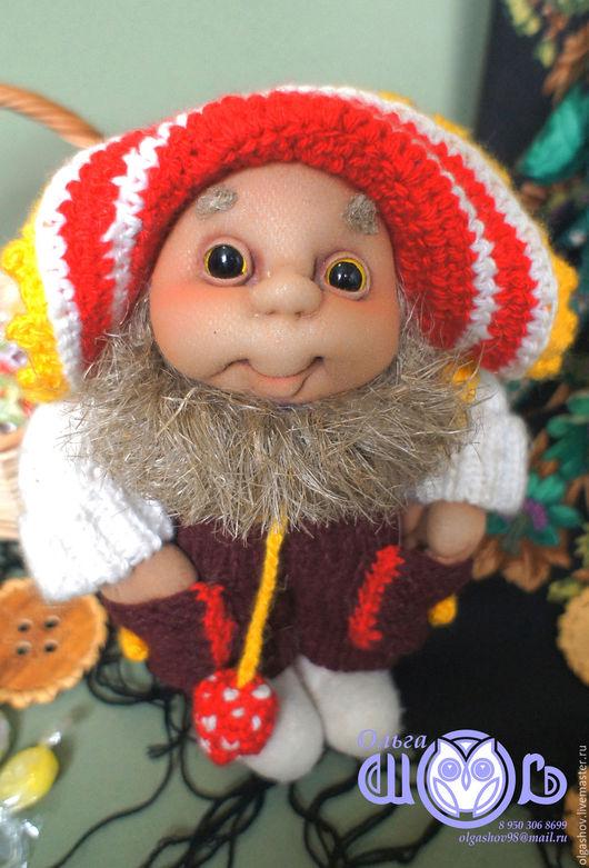 Коллекционные куклы ручной работы. Ярмарка Мастеров - ручная работа. Купить Чистюля. Handmade. Домовой, кукла в подарок, текстильная пластика
