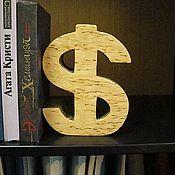 Для дома и интерьера ручной работы. Ярмарка Мастеров - ручная работа разделитель для книг доллар. Handmade.