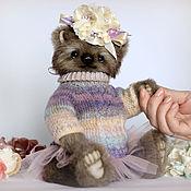Куклы и игрушки ручной работы. Ярмарка Мастеров - ручная работа Фиалка. Мишка тедди. Handmade.