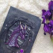 Канцелярские товары handmade. Livemaster - original item Book of shadows dragon. Handmade.