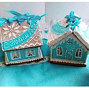 Сувениры и подарки handmade. Livemaster - original item Gingerbread house. Christmas gingerbread. Gingerbread box.. Handmade.