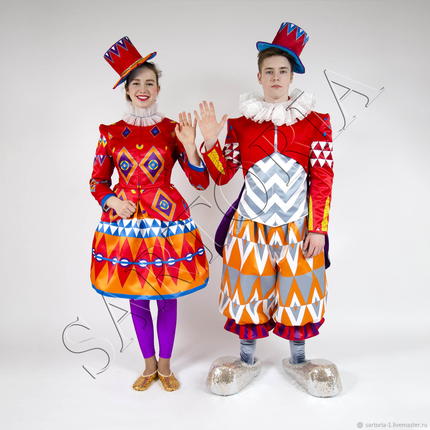 Costumes Clowns Graphics, Suits, Moscow,  Фото №1