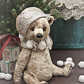 Куклы и игрушки ручной работы. Ярмарка Мастеров - ручная работа Мишка из плюша. Handmade.