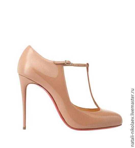 Обувь ручной работы. Ярмарка Мастеров - ручная работа. Купить Туфли ручной работы.. Handmade. Бежевый, туфли женские