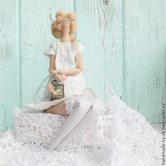 Куклы Тильды ручной работы. Ярмарка Мастеров - ручная работа. Купить Тильда романтичное Лето. Handmade. Белый, декор для дома