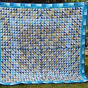 """Для дома и интерьера ручной работы. Ярмарка Мастеров - ручная работа Одеяло """"Морской бриз"""". Handmade."""