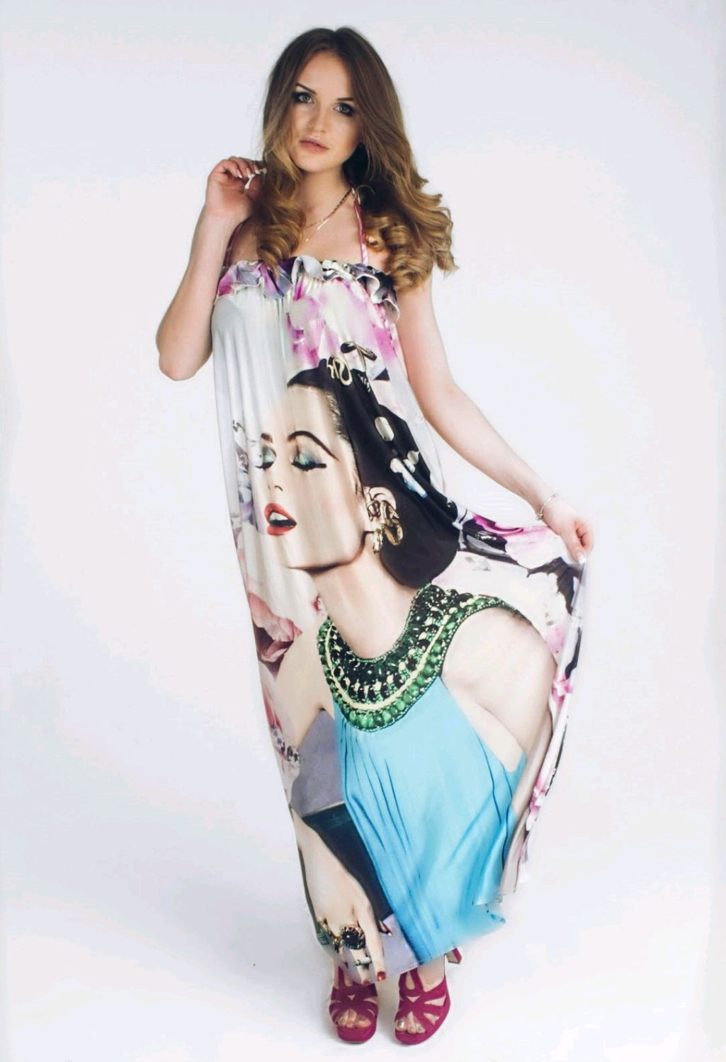 Платья сшитые из купонной ткани фото 880