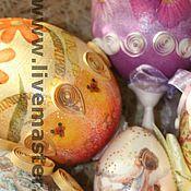 """Подарки к праздникам ручной работы. Ярмарка Мастеров - ручная работа """"Пасхальные сокровища"""". Handmade."""