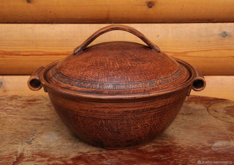 Форма для запекания (глина, лощение, молочение), Посуда для запекания, Жуковский,  Фото №1