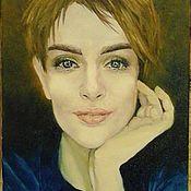 Картины и панно handmade. Livemaster - original item Paintings: portrait of a girl by photo. Handmade.