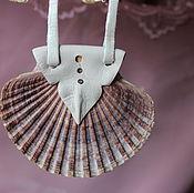 Аксессуары ручной работы. Ярмарка Мастеров - ручная работа Кулоны с морскими раковинами для любителей морской романтики. Handmade.