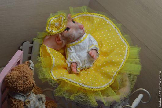Куклы-младенцы и reborn ручной работы. Ярмарка Мастеров - ручная работа. Купить Мышка реборн или  Mouse Mascot от скульптора Sylvia Manning. Handmade.