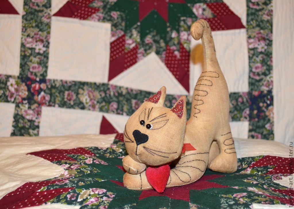 Ароматизированные куклы ручной работы. Ярмарка Мастеров - ручная работа. Купить КОТофеюшка. Кофейная серия. Handmade. Котенок, кофейная игрушка