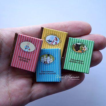Dolls & toys handmade. Livemaster - original item Mini-books with quotes 1:6. Handmade.