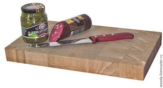 Кухня ручной работы. Ярмарка Мастеров - ручная работа. Купить Разделочная доска для кухни торцевая 400х250х40мм. Handmade. Купить, для кухни